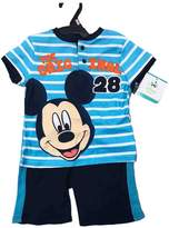 Bassket.com Disney Mickey Mouse 2 Pieces Boys Clothing Set 12-24 Months