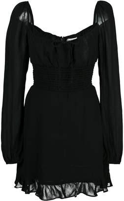 Reformation square-neck mini dress