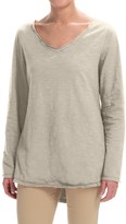 Neon Buddha Runaway Split-Back Shirt - Long Sleeve (For Women)