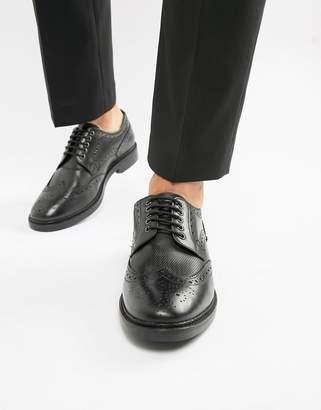 Base London Rothko brogues in black
