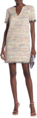 Trina Turk New York Frayed Trim Dress