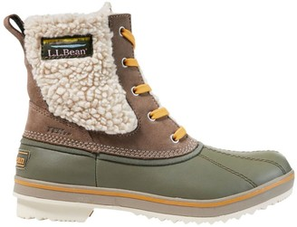 L.L. Bean Women's Rangeley Waterproof Pac Boots, Ankle Insulated