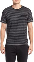 Majestic International Men's Stripe T-Shirt