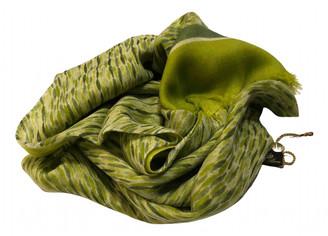 Loro Piana Green Cashmere Scarves