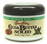 Queen Helene Cocoa Butter Solid 6 oz. Bonus Jar (Pack of 2)