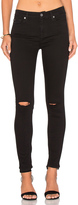 7 For All Mankind b(air) Ankle Knee Hole Skinny