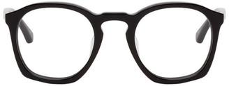 Dries Van Noten Black Linda Farrow Edition 48 C16 Glasses