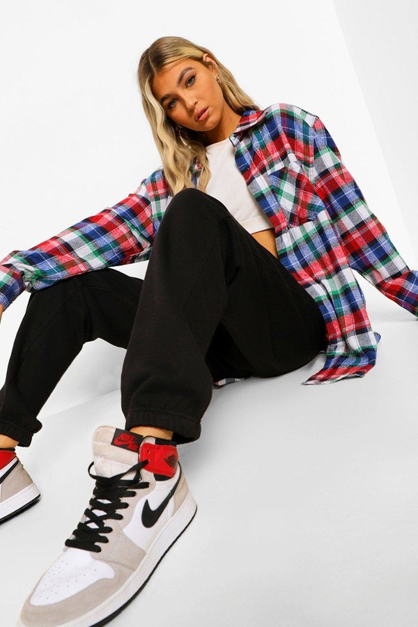 Thumbnail for your product : boohoo Tall Basic Cuffed Hem Joggers