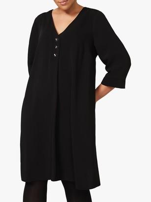 Studio 8 Adaline Knee Length Shift Dress, Black
