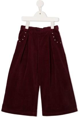 Velveteen Shannon trousers