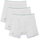 Lacoste Supima® Cotton Solid Boxer Briefs - Pack of 3