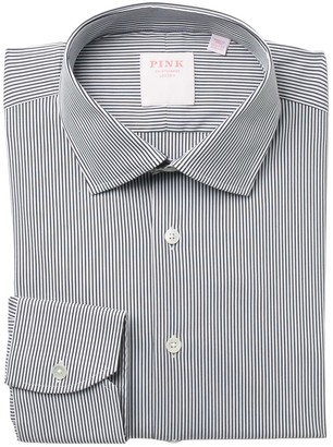 Thomas Pink Fine Bengal Stripe Dress Shirt
