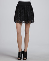 Margaret Black Lace Skirt (Stylist Pick!)