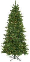 Asstd National Brand 14' Pre-Lit Eastern Pine Slim Artificial ChristmasTree with Clear Lights