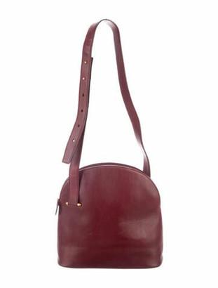 Cartier Leather Shoulder Bag gold