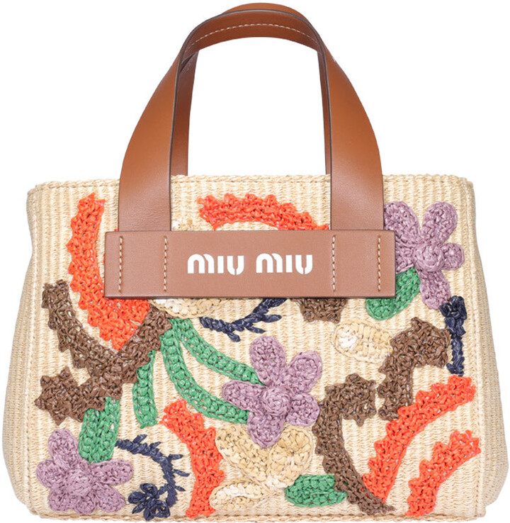 Women Zipper Embroidery Flower Handbag Floral Tote Ladies Evening Messenger Bags