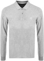 Henri Lloyd Musburry Long Sleeve Polo T Shirt Grey
