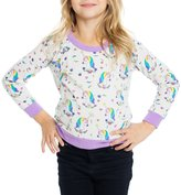 CHASER KIDS - Youth Girl's Unicorns Pullover