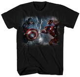 Captain America Boys' Captain America: Civil War T-Shirt - Black