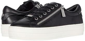 J/Slides Harling (Black Leather) Women's Shoes