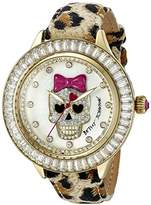 Betsey Johnson Women's BJ00358-13 Analog Display Quartz Multi-Color Watch