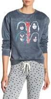 Freeze Kiss Stitch Yoke Sweatshirt