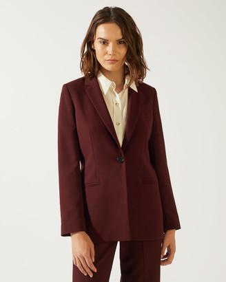 Jigsaw Modern Crepe Jacket