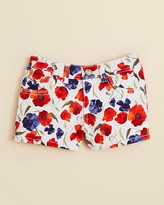 GUESS Girls' Floral Denim Shorts - Sizes 7-16