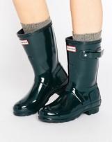 Hunter Short Gloss Wellington Boot