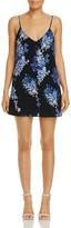Olivaceous Open-Back Floral Print Dress