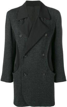 Yohji Yamamoto Pre-Owned double breasted jacket