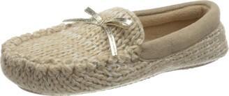 Flip*Flop Women's Loaferknit Metallic Mule