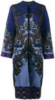 Etro Mongolia cardigan coat