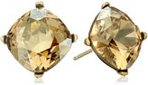 Cara Swarovski Crystal Single Stone Stud Earrings