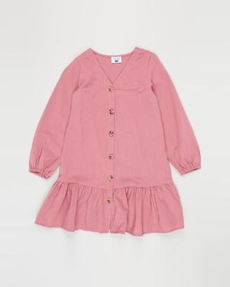 Cotton On Leila Long Sleeve Dress - Teens