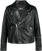 Yang Li fitted biker jacket