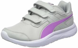 Puma Unisex Kids Escaper Sl V Jr Low-Top Sneakers White White-Soft Fluo Peach) 6 UK (39 EU)