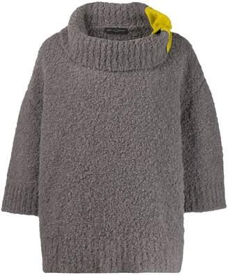 Fabiana Filippi contrast oversized sweater