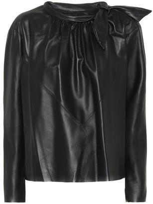 Isabel Marant Chay leather shirt