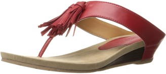 Kenneth Cole Reaction Women's Great Tassel Wedge Sandal 7 M US