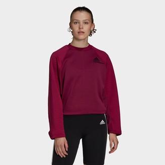 adidas Women's Athletics Z.N.E. COLD.RDY Crew Sweatshirt