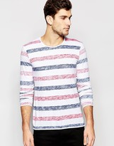 Esprit Long Sleeve T-Shirt with Stripes