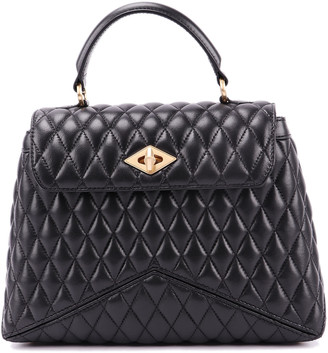Ballantyne Quilted Lambskin Leather Bag