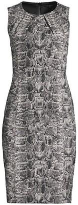 Kobi Halperin Beatrice Python-Print Dress