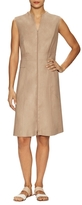 Lafayette 148 New York Carlina Zip Front A-Line Dress