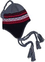 N'Ice Caps TM N'Ice Caps Boys Currier and Ives Knitted Ski Hat with Fleece Lining