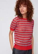 Marni Short Sleeve Stripe Knit