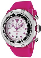 Glam Rock Women's GR20130 Miami Beach Chronograph White Dial Silicone Watch