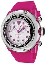 Glam Rock Women's GR20130 Miami Beach Chronograph White Dial Silicone Watch