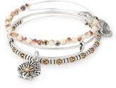 Alex and Ani Star of Venus Set of 3 Bangles